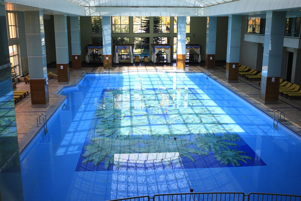 Indoor Pool, Pegasos World Hotel - All Inclusive