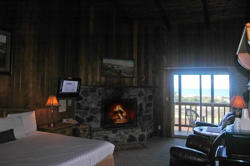 Beach Ocean View Featured Image Front King Bed Gas Fireplace With Private Balcony Guestroom