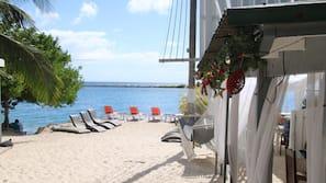 Private beach, snorkeling, kayaking