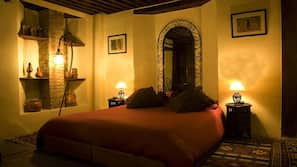2 間臥室、高級寢具、保險箱、設計每間自成一格