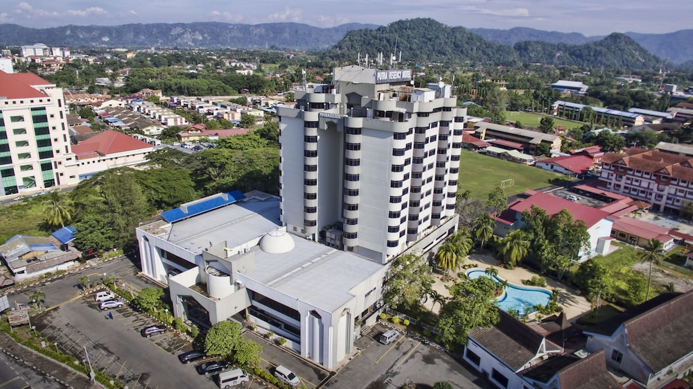 Aerial View, The Putra Regency Hotel