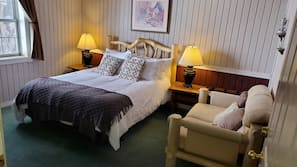 Premium bedding, down duvets, memory-foam beds, individually decorated