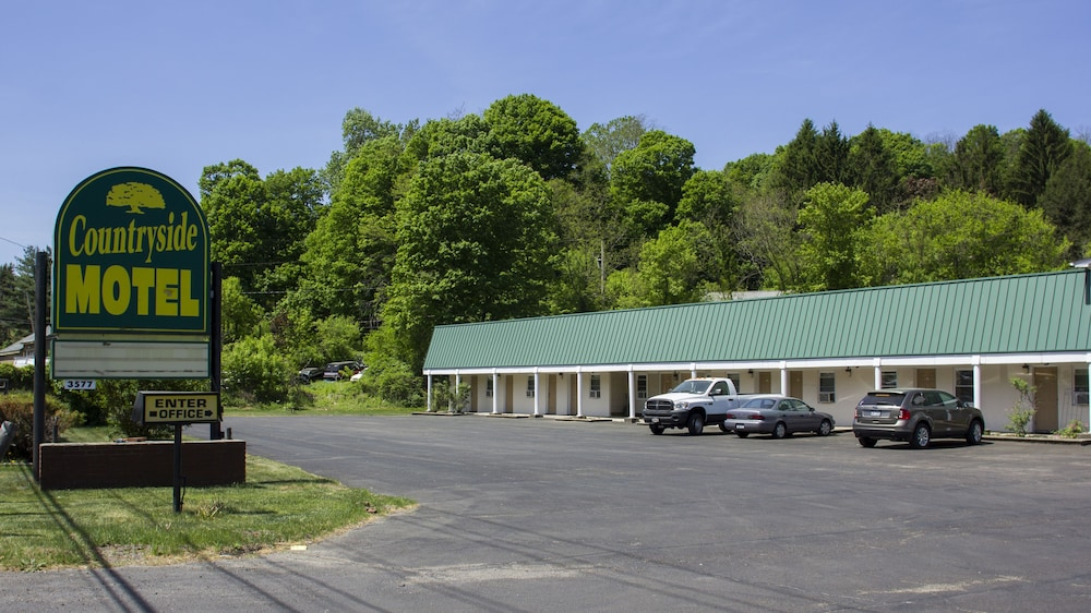 Front of Property, Countryside Motel