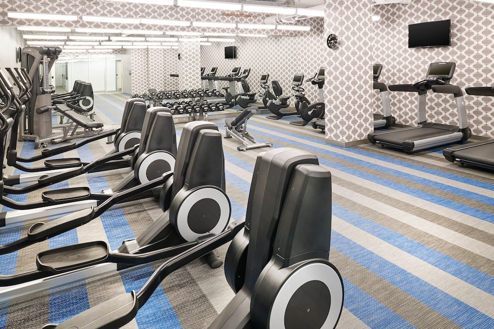 Fitness Facility, Aloft Louisville Downtown