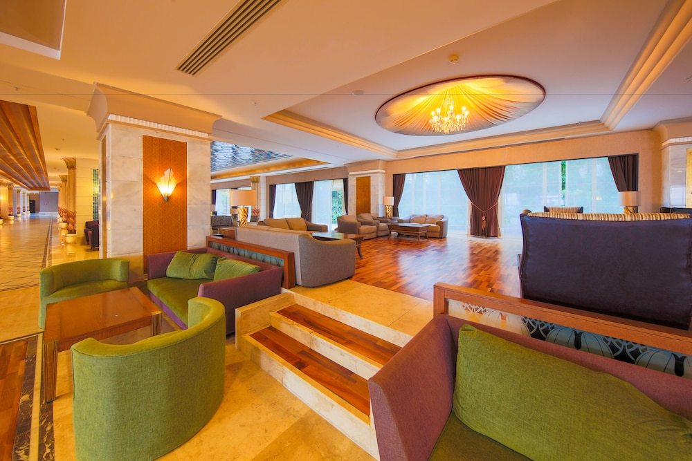 Lobby Sitting Area, Horus Paradise Luxury Resort - All Inclusive