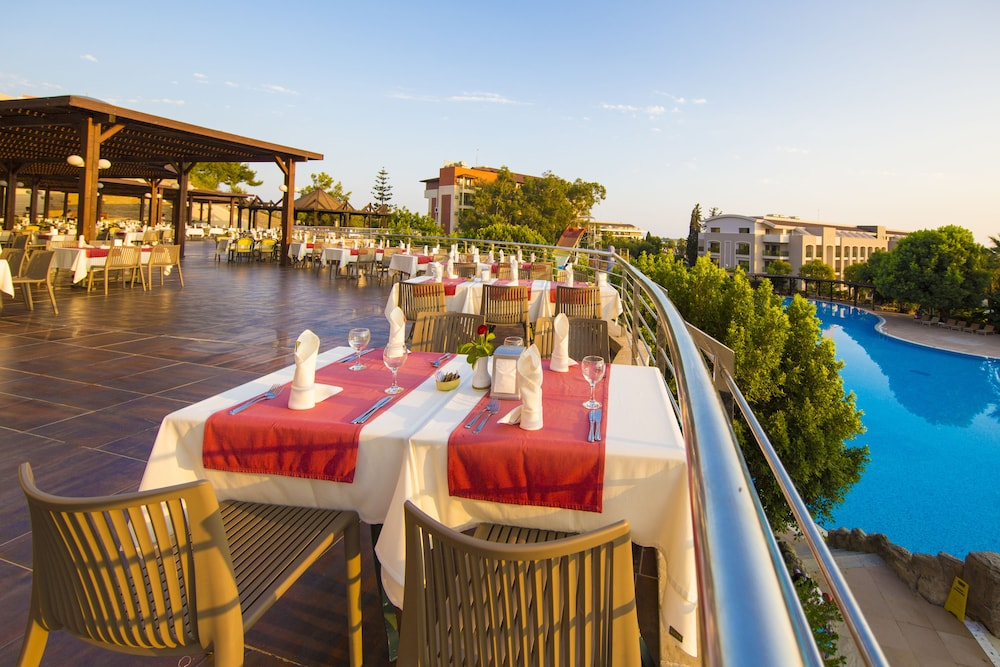Terrace/Patio, Horus Paradise Luxury Resort - All Inclusive