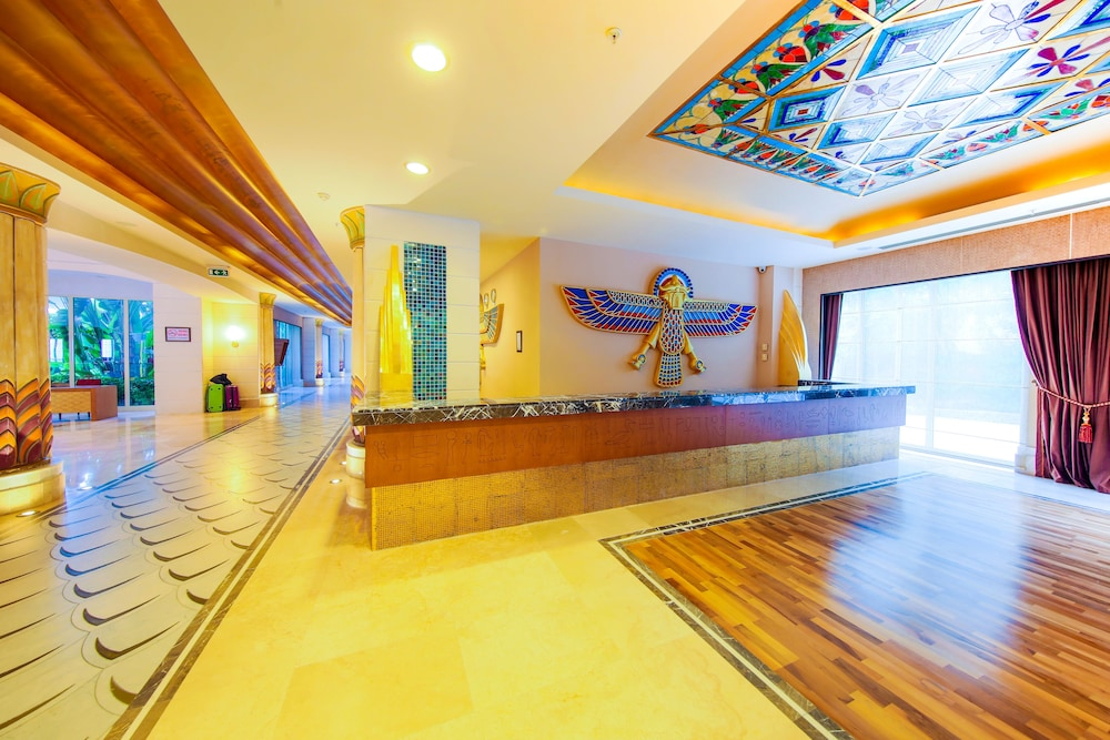 Reception, Horus Paradise Luxury Resort - All Inclusive