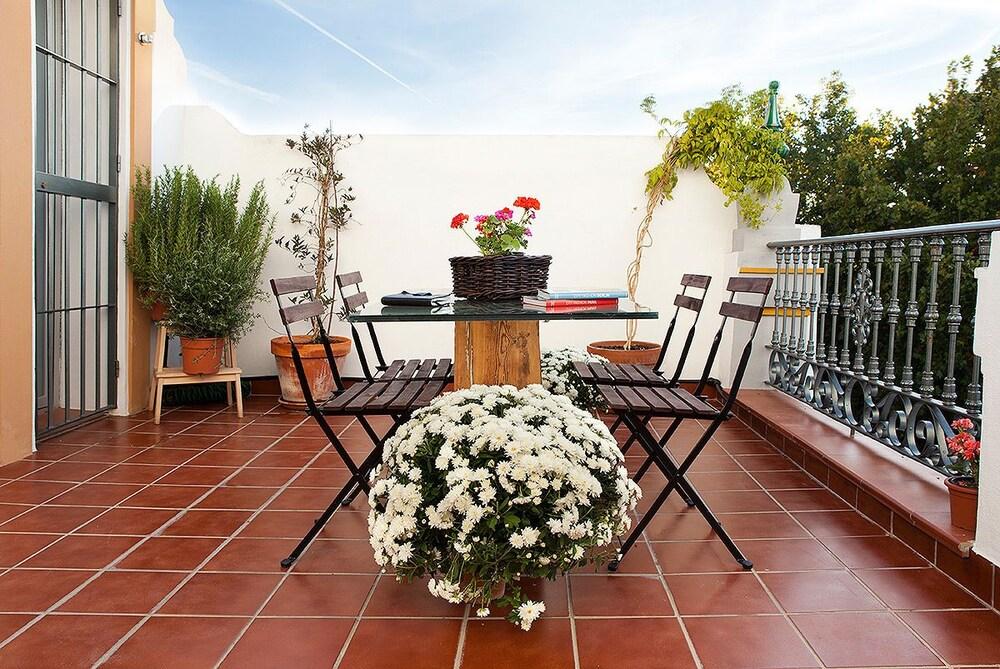 Terraza o patio singular alameda