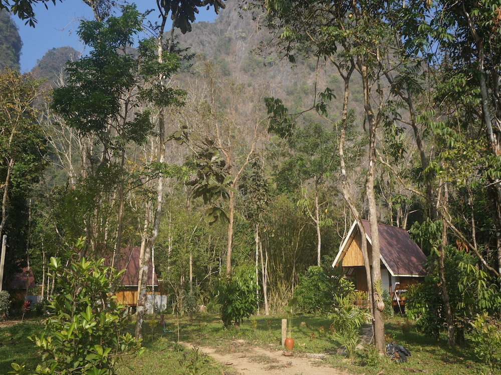 Property Grounds, Khao Sok Jungle Resort