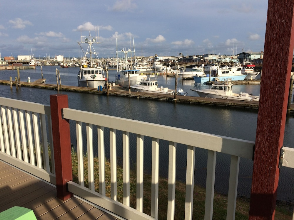 View from Property, Westport Marina Cottages