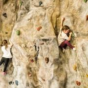 Indoor-Kletterwand