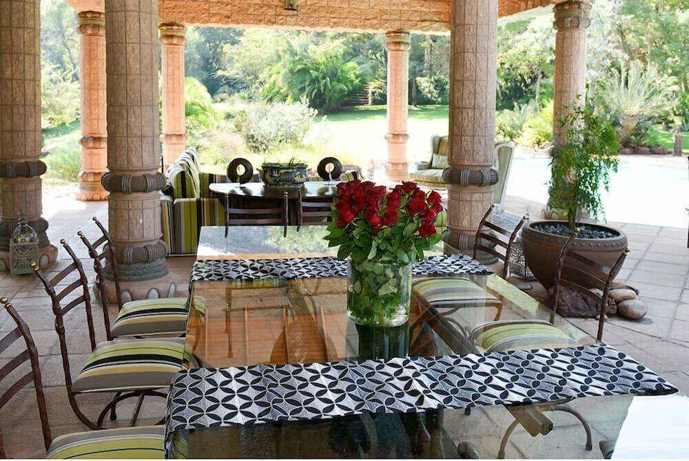 Outdoor Dining, Lejwe La Metsi Game Farm Pty Ltd