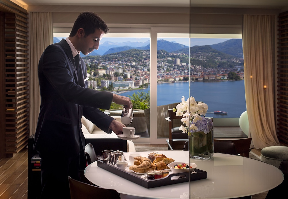 In-Room Dining, The View Lugano