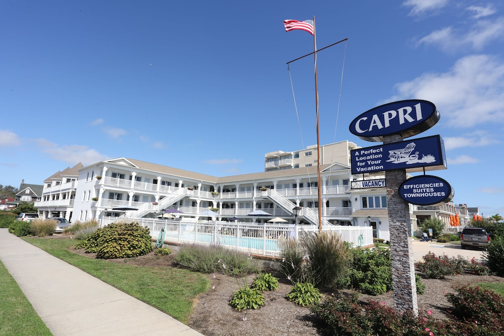capri motor lodge cape may usa hotwire