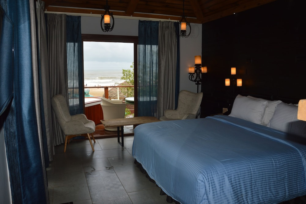 The Baga Beach Resort 3 5 Out Of 0 View From Hotel Featured Image Guestroom
