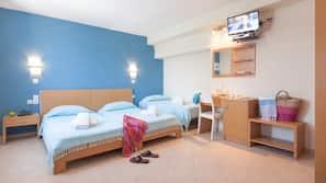 Hochwertige Bettwaren, Zimmersafe, kostenlose Babybetten, Zustellbetten