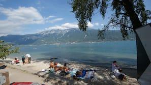 Navette gratuite vers la plage, planche à voile, canoë