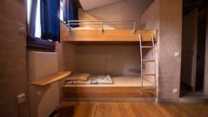 Een kluis op de kamer, geluiddichte muren, gratis wifi