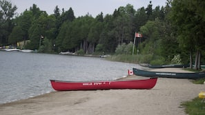 Private beach, motor boating, rowing, fishing