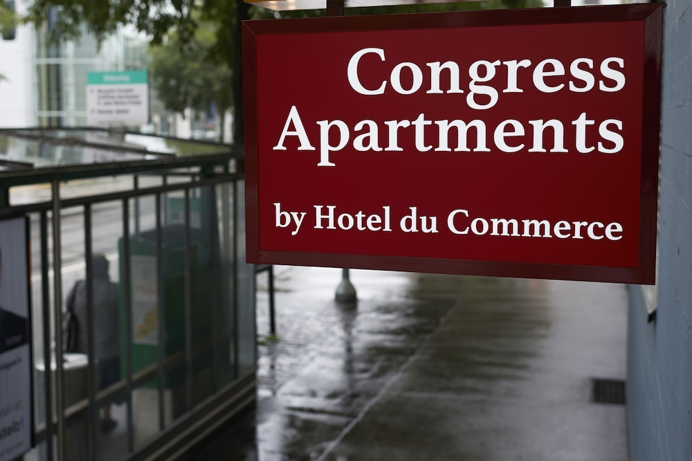 Front of Property, Congress Apartments by Hotel du Commerce