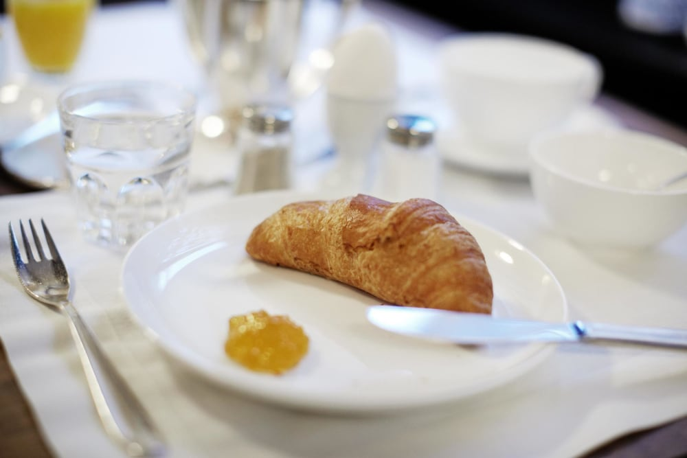 Breakfast buffet, Congress Apartments by Hotel du Commerce