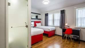 1 bedroom, desk, laptop workspace, free WiFi