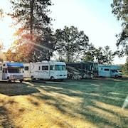 Estacionamento para trailer e caminhão