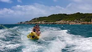 Ubicación a pie de playa, windsurf, bar en la playa y kayak