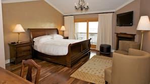 Premium bedding, pillowtop beds, blackout drapes, iron/ironing board