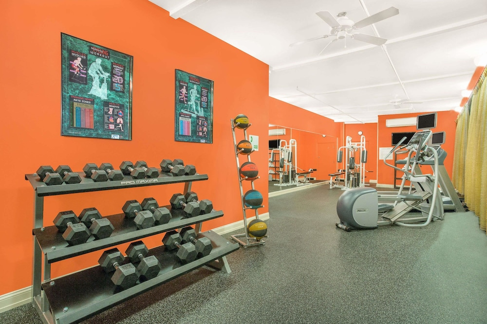 Fitness Facility, Ramada Plaza by Wyndham Fayetteville Fort Bragg Area