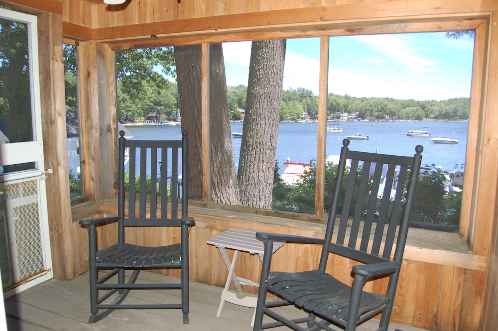 View from Room, Sebago Lake Lodge & Cottages