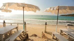 Private beach, scuba diving, snorkelling, beach bar