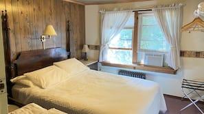 Premium bedding, down comforters, free WiFi