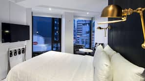 Premium bedding, minibar, in-room safe, blackout curtains