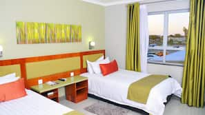 Minibar, in-room safe, rollaway beds, free WiFi