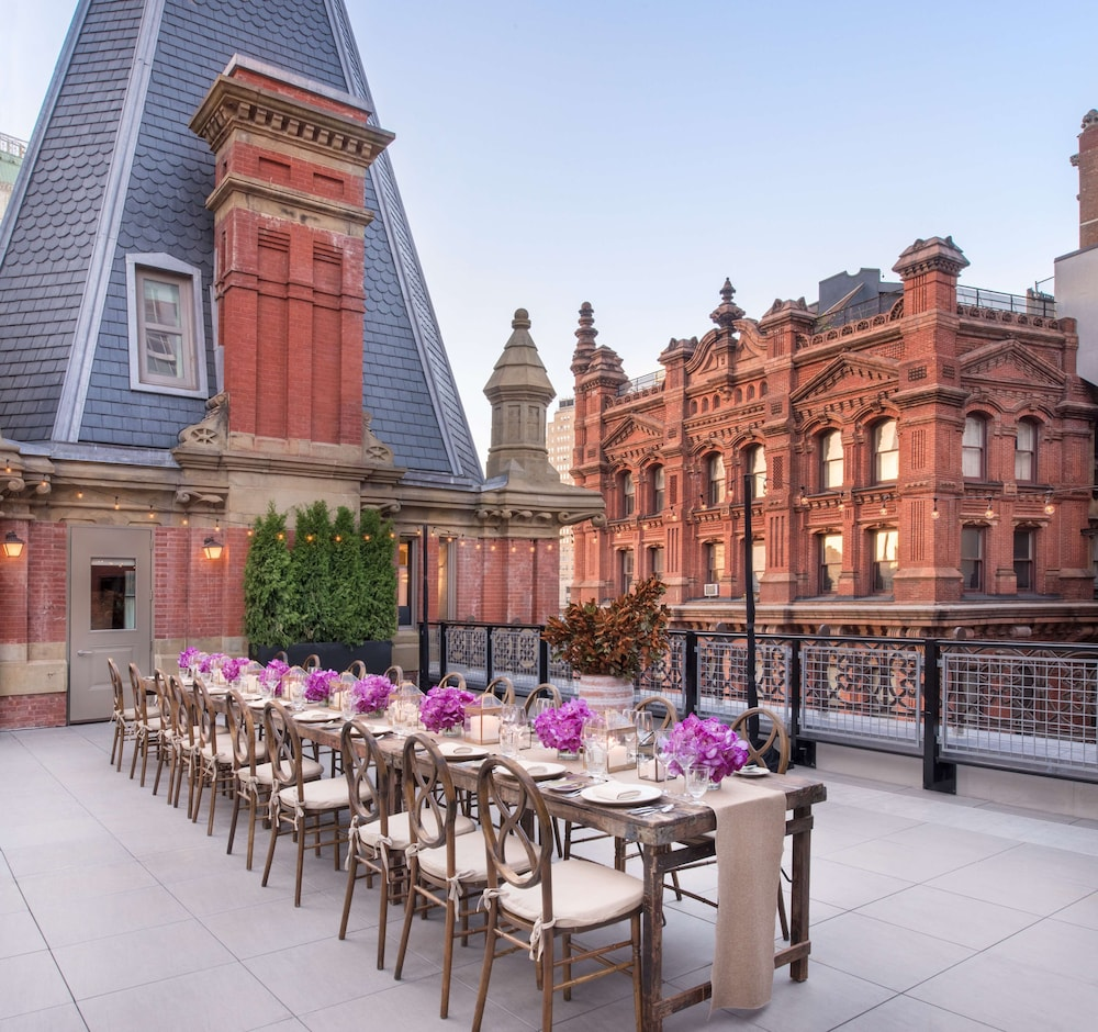 Terrace/Patio, The Beekman, A Thompson Hotel