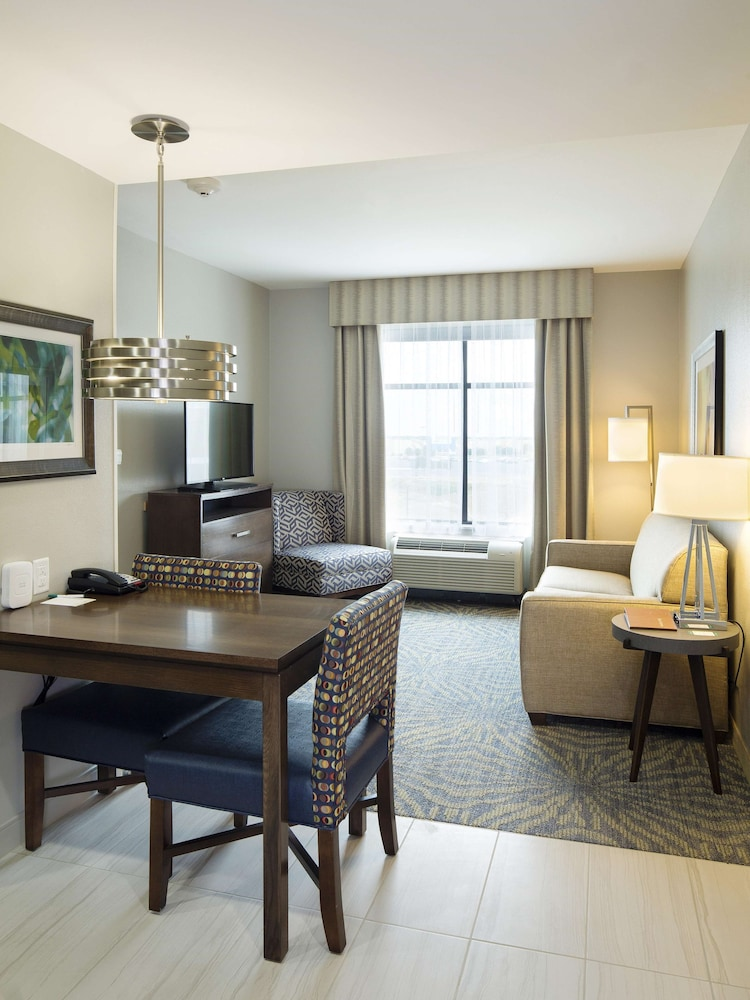 Living Area, Homewood Suites by Hilton Houston / Katy Mills Mall