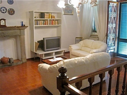 Panoramic House, 3 Bedrooms, Private Pool, View (Gragnano) - Living Area