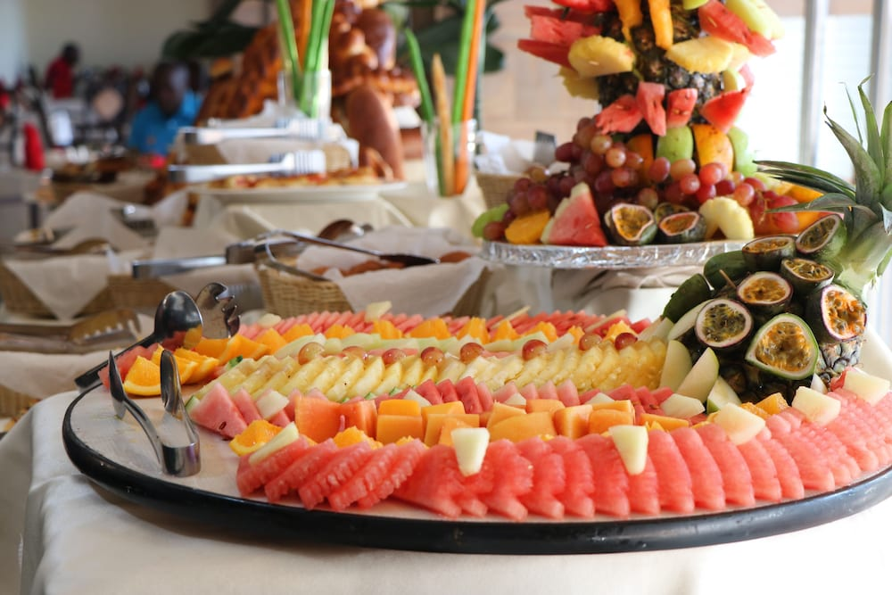 Breakfast buffet, Weston Hotel