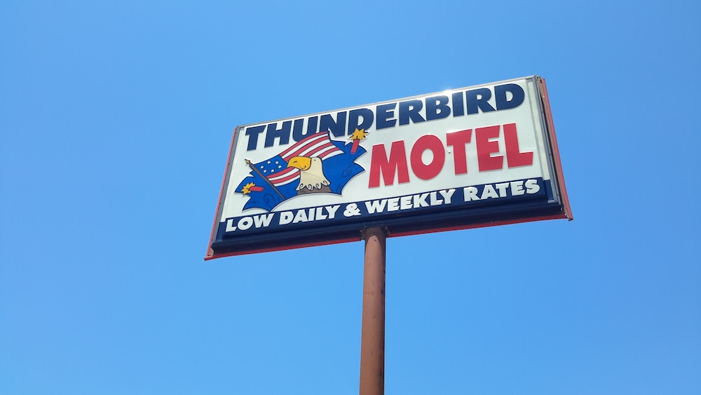 Property Entrance, Thunderbird Motel