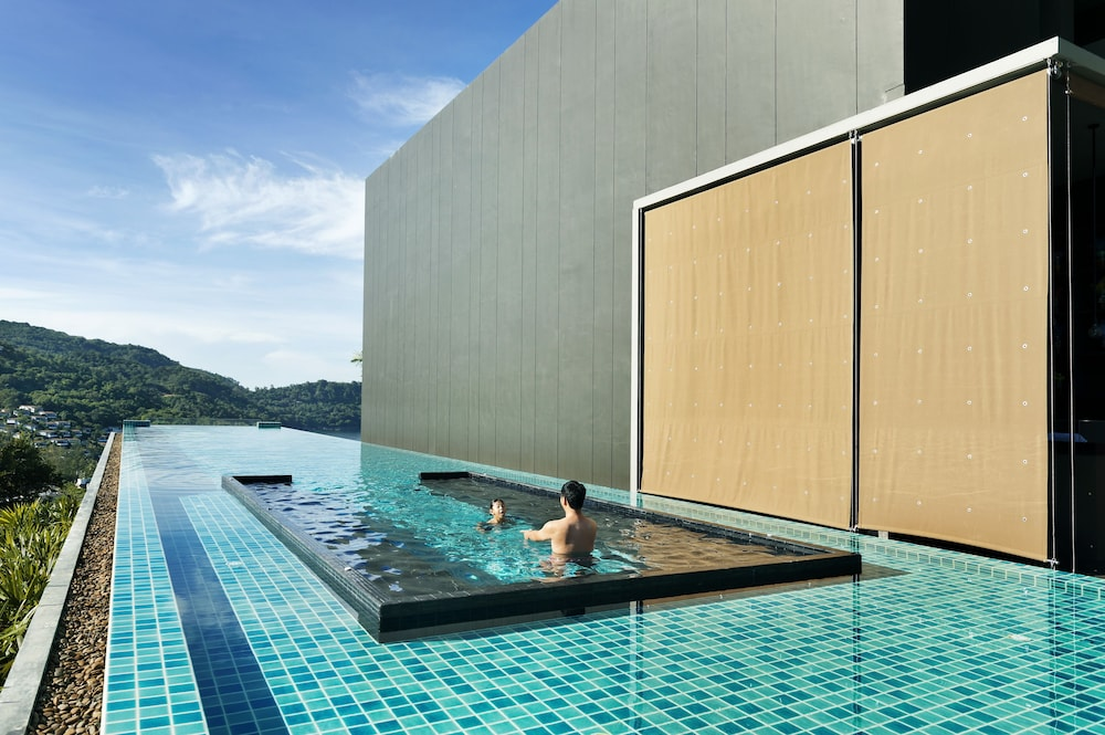 Outdoor Pool, The Sea Galleri by Katathani