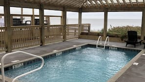 Seasonal outdoor pool