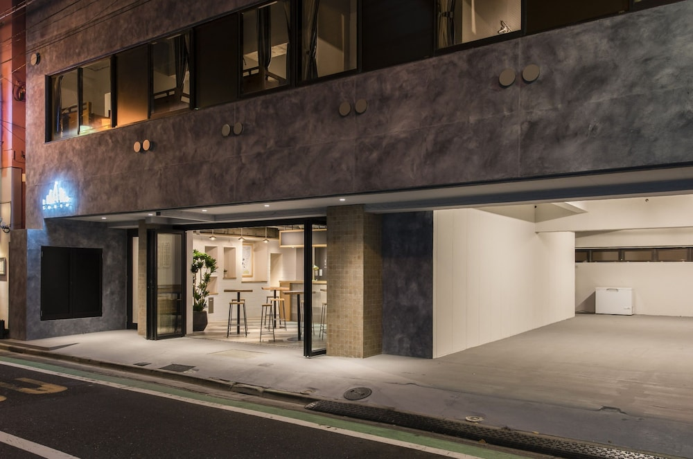 Front of Property - Evening/Night, IMANO TOKYO HOSTEL