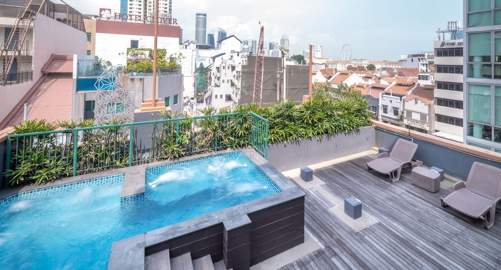 Outdoor Spa Tub, Hotel Bencoolen@Hong Kong Street