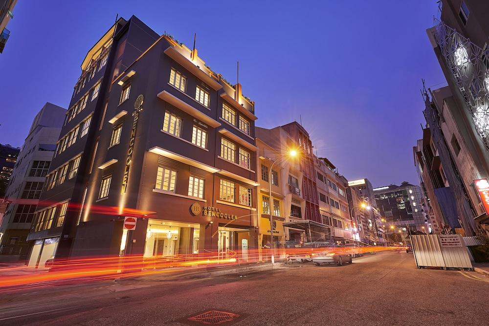 Front of Property - Evening/Night, Hotel Bencoolen@Hong Kong Street