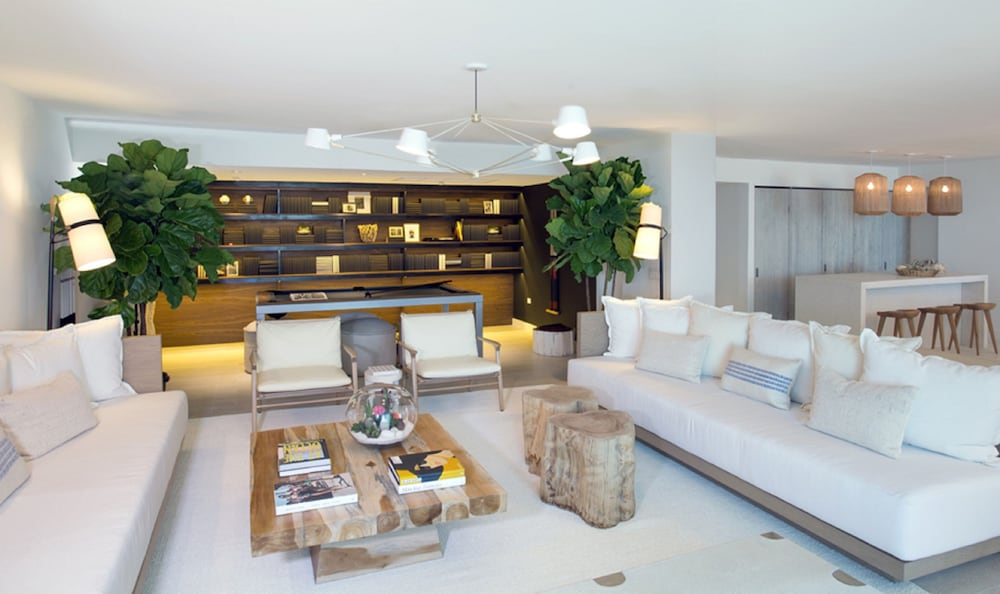 Living Room, The Retreat Collection at 1 Hotel & Homes South Beach