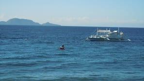 Private beach, scuba diving, snorkelling