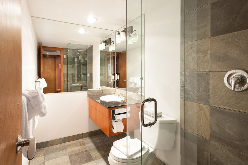 Bathroom Shower, Le Chamois by Whistler Premier