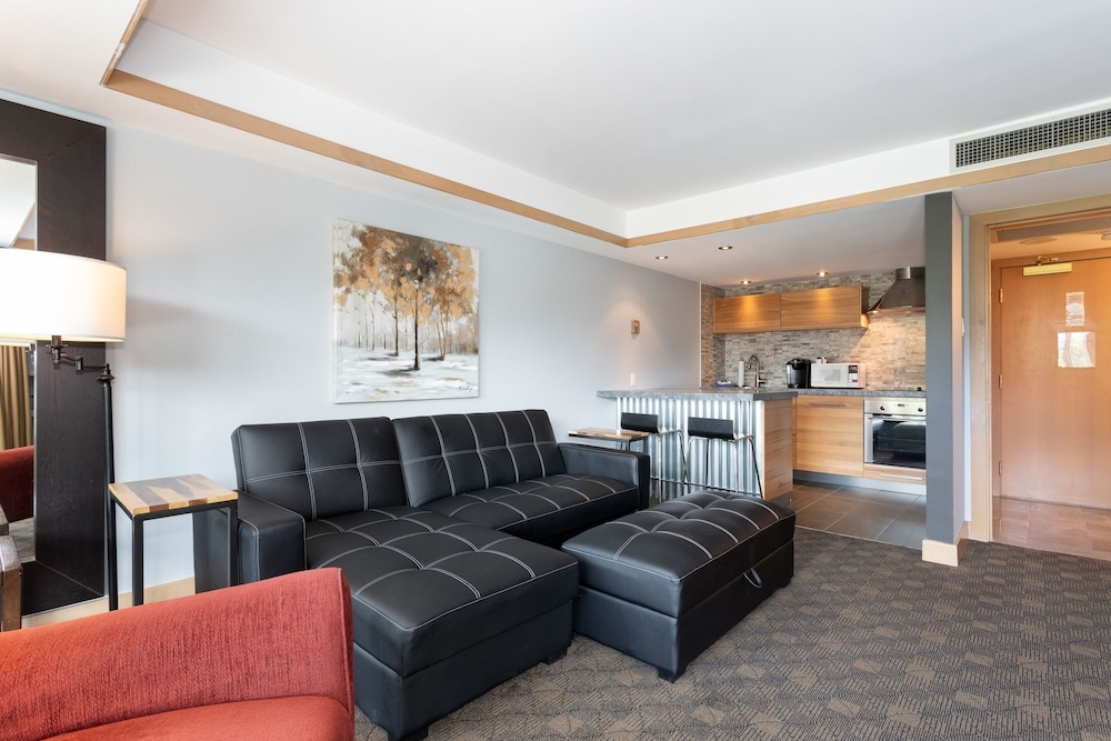 Living Area, Le Chamois by Whistler Premier
