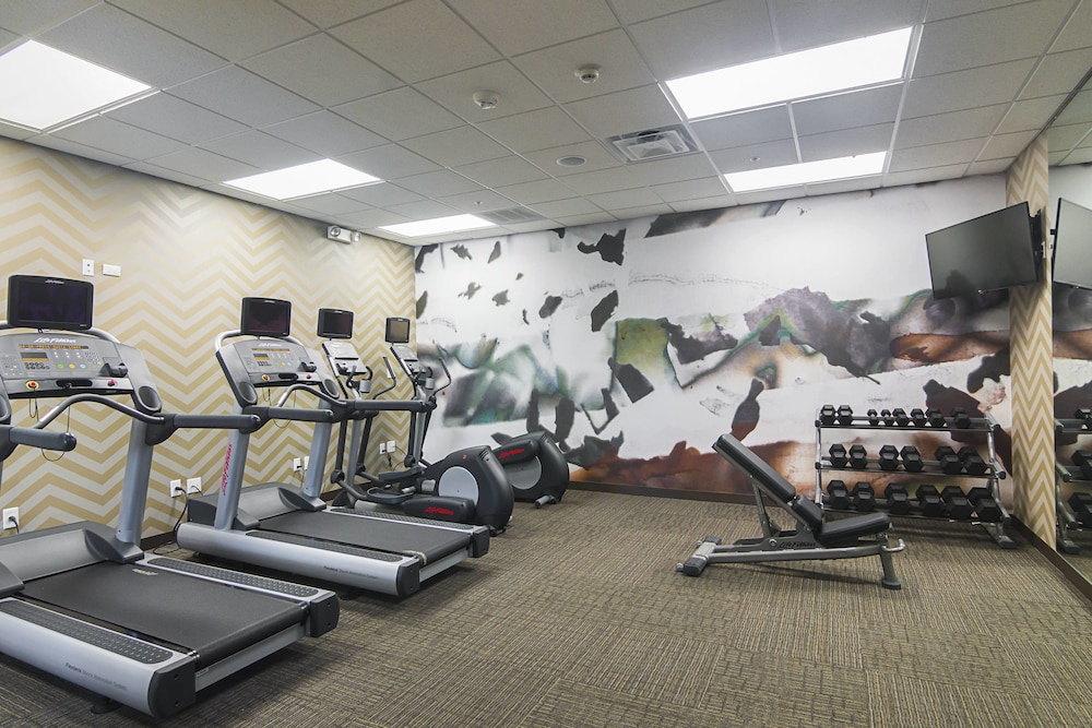 Fitness Facility, Residence Inn by Marriott Denton